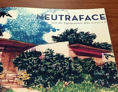 Neutraface Book Design