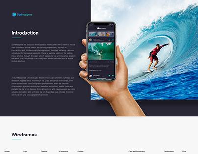 UI Design - App SurfMappers