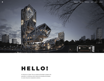 Auleek - Minimal Agency Web Design
