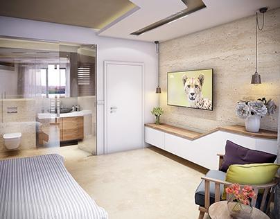 Hotel Room  Design / Montenegro