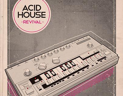 Flyer - Poster: Acid House Revival