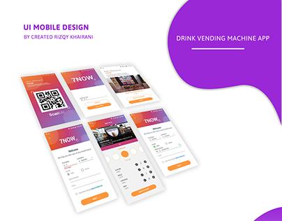Drink Vending Machine App