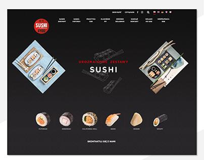 Szablon PSD strony Sushi4You - http://sushifactory.pl