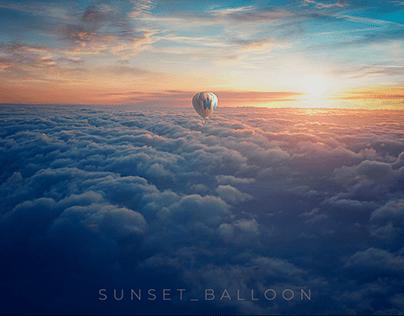 SUNSET BALLOON