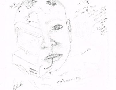 y2k intuitive drawings