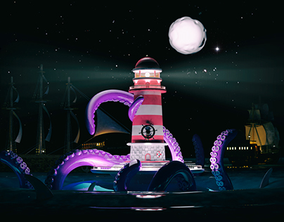 The Lighthouse | Ilustración 3D