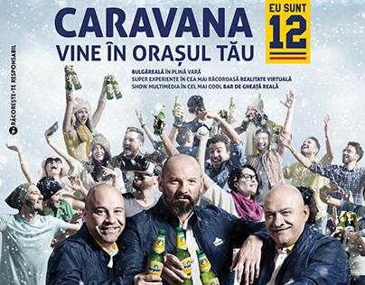 "Bergenbier - Caravana ""Eu sunt 12"" KV&TV (2017)"