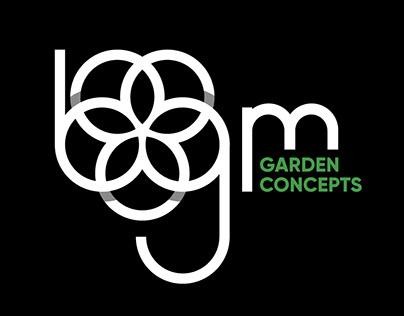 bgm Garden Concepts Logo Design
