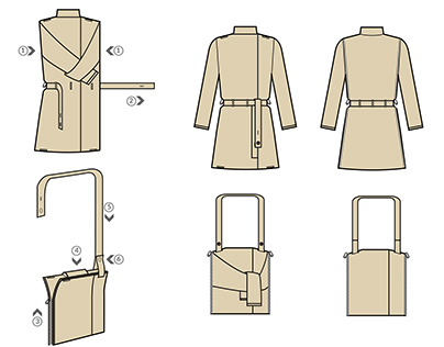 Backet- Technical Illustrations
