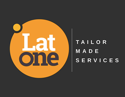 Lat One Logo - Motion Design [Sped up]