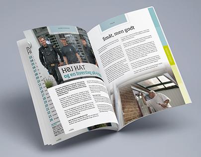 Magasin design + opsætning, Sorø Erhvervsmagasin #5