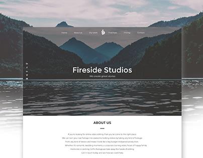 Video Editing Company - Web Design