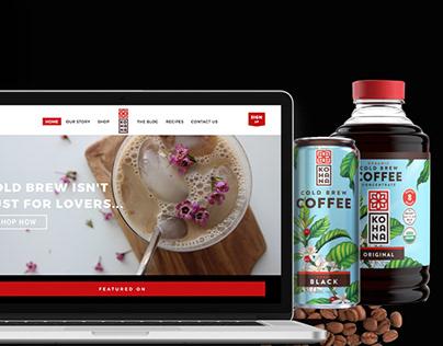 Kohana Coffee Ecommerce