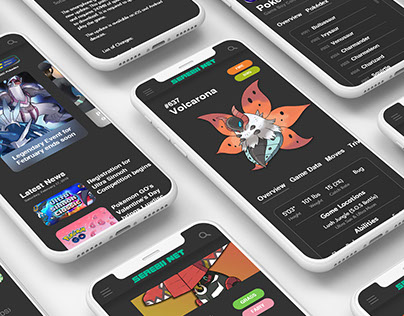 Serebii - UX Case Study on Behance