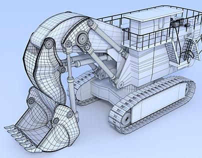 Collaboration Blender 3D Industrial Visualization