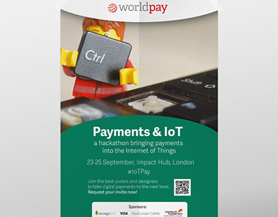 Posters and Banners - Hackathon - Worldpay