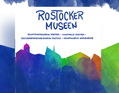 Project: Poster Campaign »Museums of Rostock«