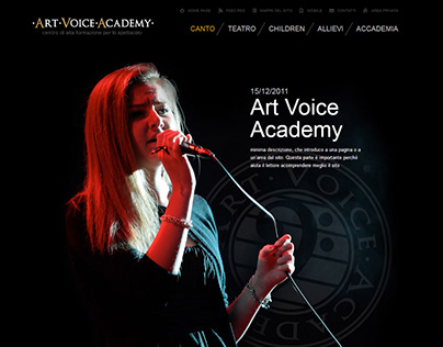 Art Voice Academy - Design & Development
