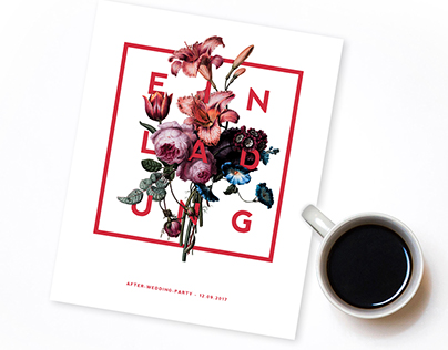 Free Mockup | Flyer | Invitation-Card | Flowerfont
