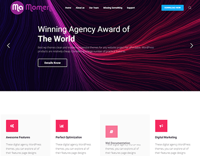 Agency Home Page 1
