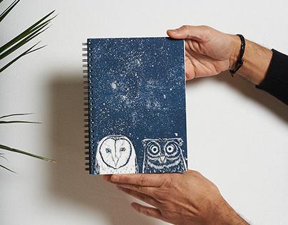 Ilustración libretas y agendas Tenbei Project