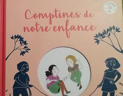 """""""Comptines de notre enfance"""", Éd.Rue des enfants 2018"""