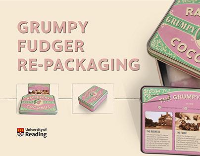 Grumpy Fudger Re-packaging