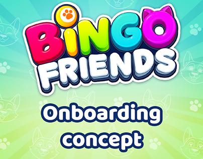 Bingo friends - Onboarding concept