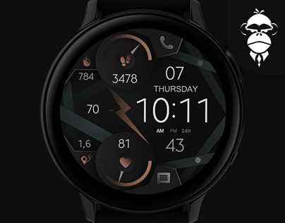 Dream 66 - Abstract Watch Face