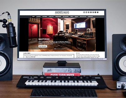 Audio Mastering Studio Website (front and backend)