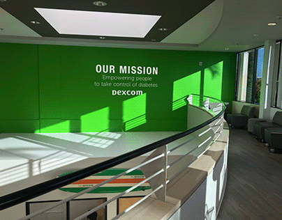 environmental design - office lobby rebranding