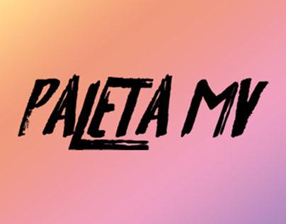Paleta Music Video Network Identity