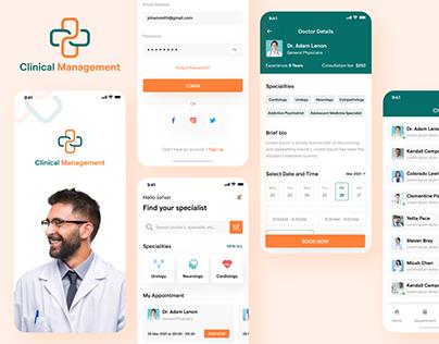 Clinic Management App