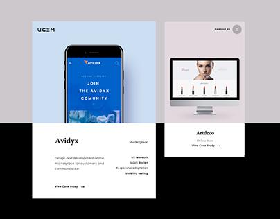 UGEM. Digital Branding