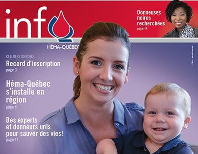 Info-Héma - bulletin annuel d'Héma-Québec 2016