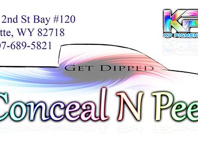 Conceal N Peel Logo