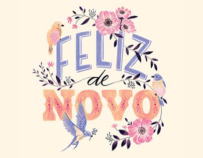 Lettering e Ilustração • Revista Todos