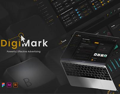 Digi-Mark Social Media Advertising UI Kit
