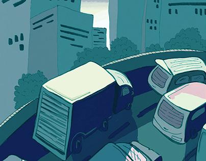 Roadtrip Comic