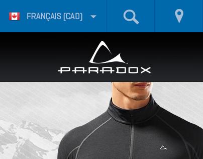 Paradox Outdoor · E-com multi plateformes