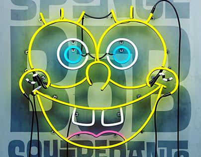 SpongeBob Pop Art
