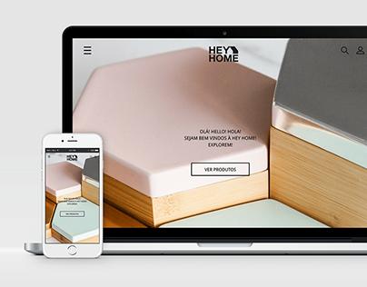 HEY HOME: Website
