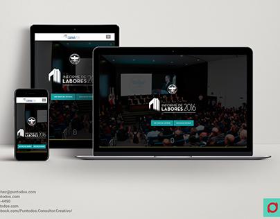 Diseño Web | Informe de Labores 2016 PJENL