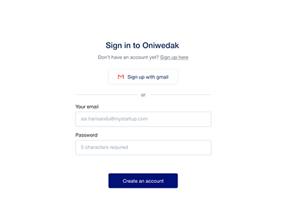 Login Page UI Practices
