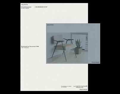 Visual Identity — Valentin Truchaud
