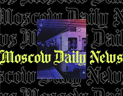 Moscow Daily News | Merch