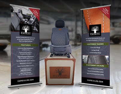 Caprivi Pull-up display banners