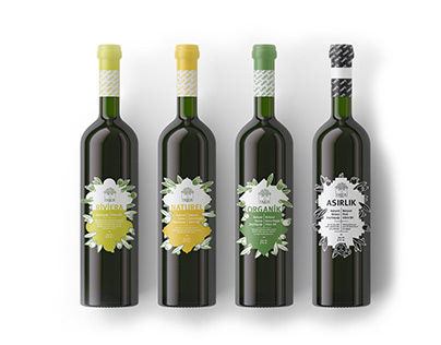 Tariş - Extra Virgin Olive Oil Packaging Design