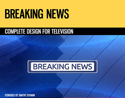 Breaking News (Broadcast Pack)