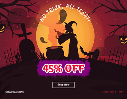 Halloween Deal: 45% OFF for All Products & Subscription